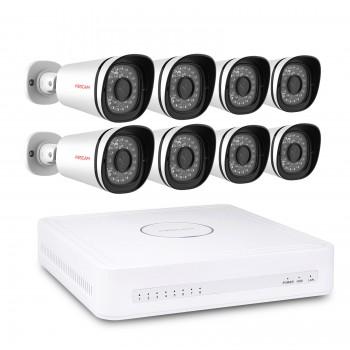 Complete Foscam 8-Camera HD Video Bewakingsset