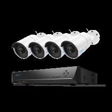 Reolink RLK8-410B4, 24/7 beschermd met 5MP Super HD beveiligingsset