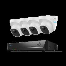 Reolink RLK8-520D4, onophoudelijk beschermd met deze 5MP Super HD beveiligingsset