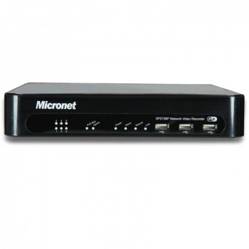 Micronet SP5736P PoE Plug-and-Play Video recorder