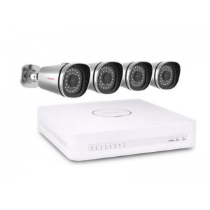 Foscam FN3108E-B4-1T - 4  (FI9800E) Camera 720P HD Video Bewaking NVR-Kit